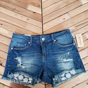 American Rag High Low Shortie mid rise size 5